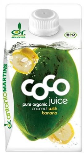Bio Coco Juice Banane - Kokoswasser