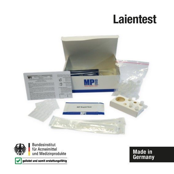 Corona Laientest - Eigenanwendung - Rapid SARS-CoV-2 Antigen Test Card