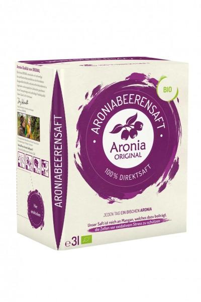 Bio Aronia-Muttersaft im Monatspack