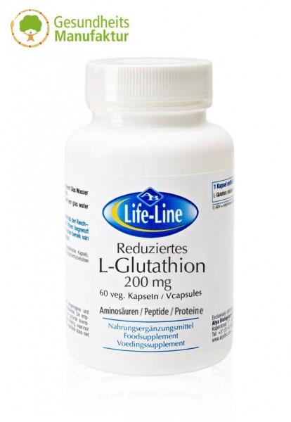 Glutathion - Reduziertes L-Glutathion 200 mg