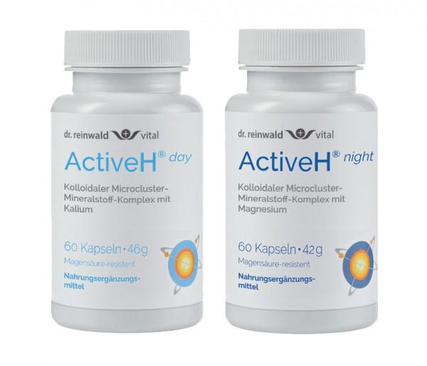 New-H day oder New-H night mit aktivem Wasserstoff und Mineralstoff-Komplex