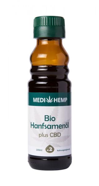 Bio Hanfsamenöl plus CBD