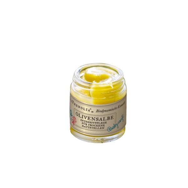 Olivensalbe - Intensivpflege für trockene Hautstellen - OliPhenolia