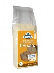 Glutenfreies Low Carb-Eiweissbrot -Brotbackmischung, BIO