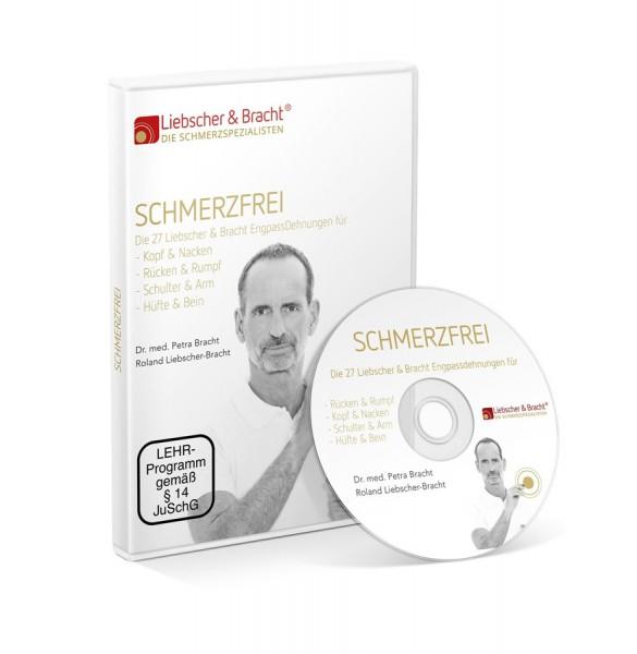 Schmerzfrei DVD von Liebscher & Bracht