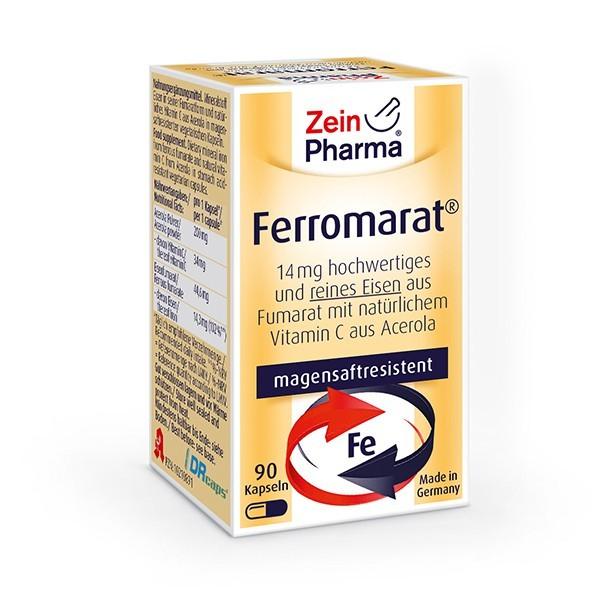 Ferromarat Kapseln - bioverfügbares Eisen-Fumarat