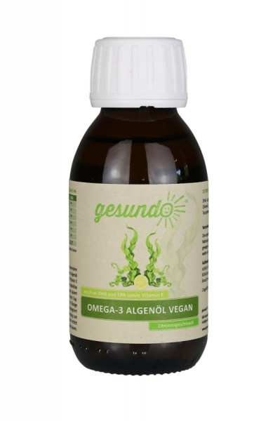 veganes Omega-3 Algenöl gesundo
