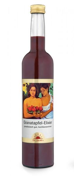 Granatapfel-Elixier mit Polyphenolen