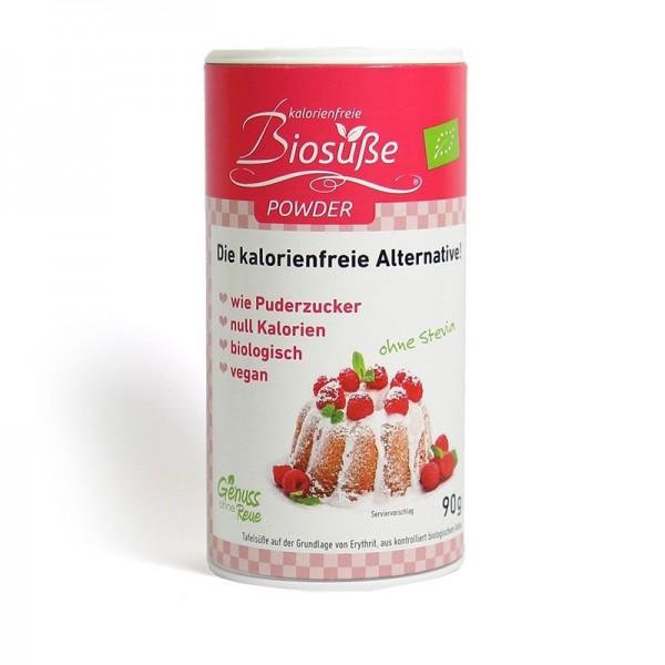 BioSüße - Puderzucker aus Bio-Erythritol - Dose 90 g
