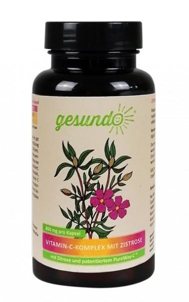 Vitamin-C-Komplex mit Zistrose und Citrusbioflavonoiden