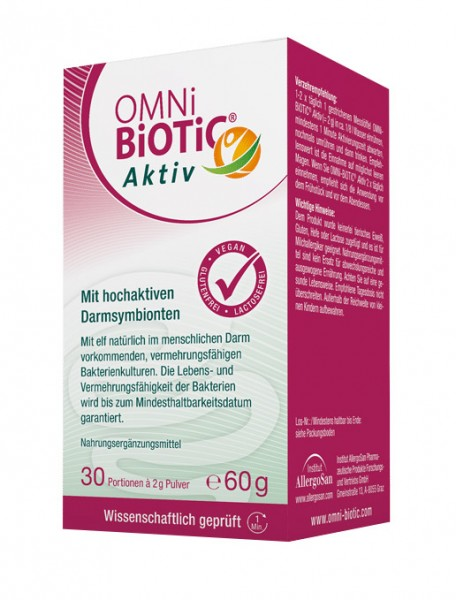OMNi-BiOTiC aktiv (ehemals 60+) - mit 10 Bakterienkulturen