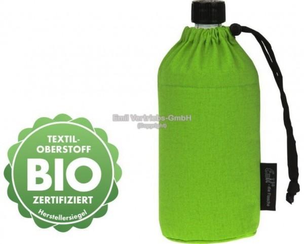 Emil die Flasche - gepolsterte Trinkflasche aus Glas mit Bio Bottle Suit