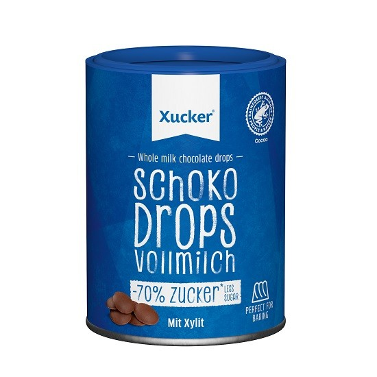 Xucker Xylit - Schoko-Drops Vollmilch 200g