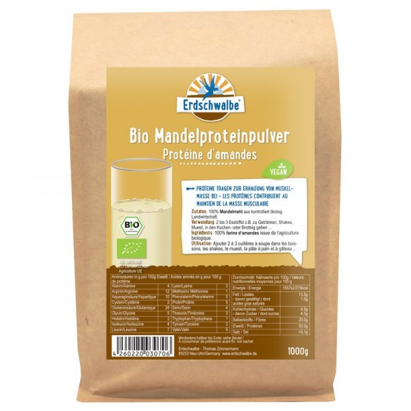 Mandel Proteinpulver, BIO