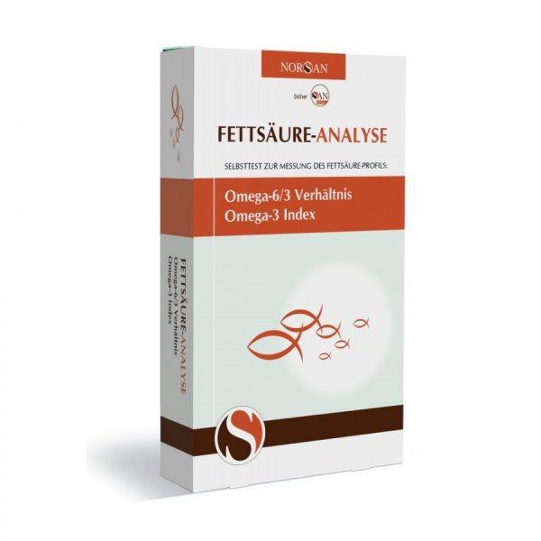 San Omega Analyse - Bluttest für Fettsäure-Analyse