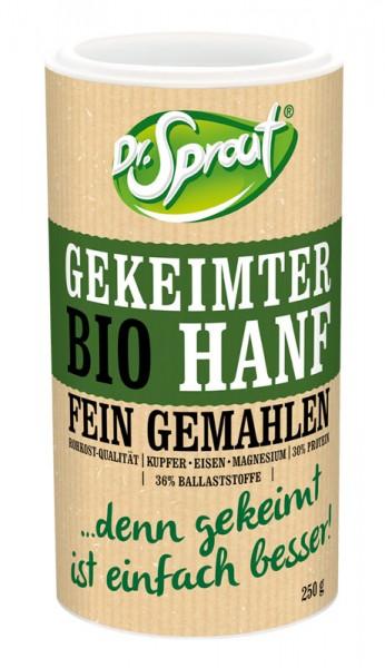 Gekeimter Bio Hanf