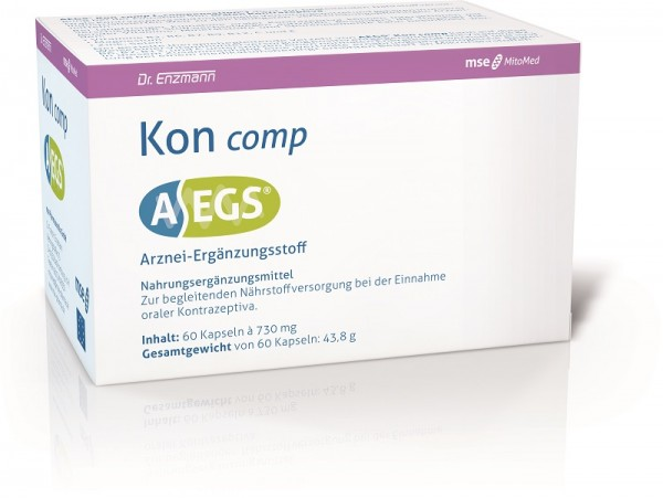 AEGS Kon comp - Ergänzungsstoff bei hormoneller Verhütung