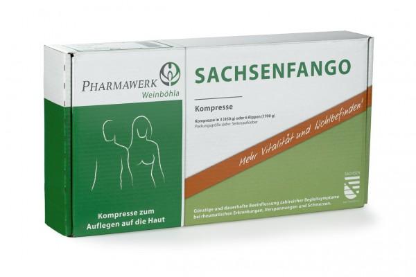 Sachsenfango - Kompresse zur Wärmetherapie oder Kältetherapie