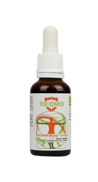 Tocomin Flüssig-Extrakt - Vitamin E Komplex mit Tocotrienol von EVNol