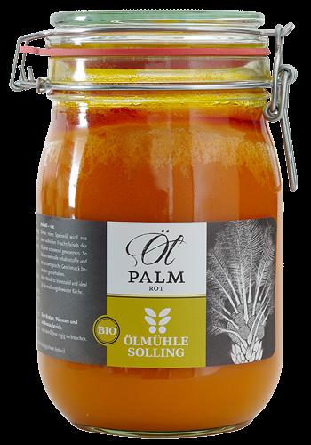 Rotes Palmöl, BIO, mit Carotinoiden und Tocotrienolen