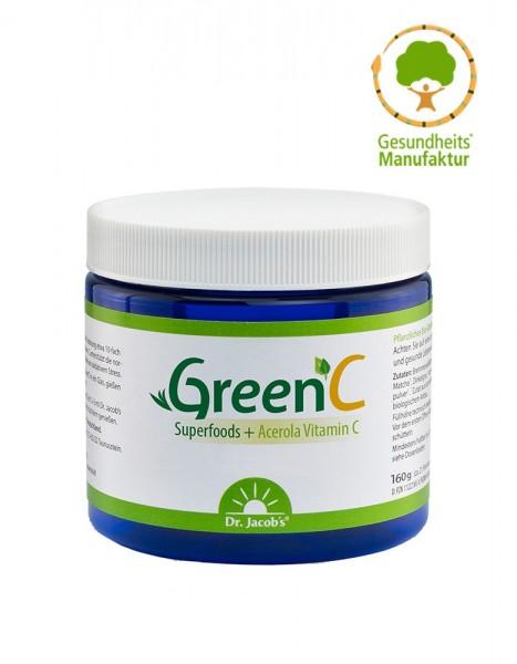GreenC, BIO - Geballte Bio-Pflanzenkraft