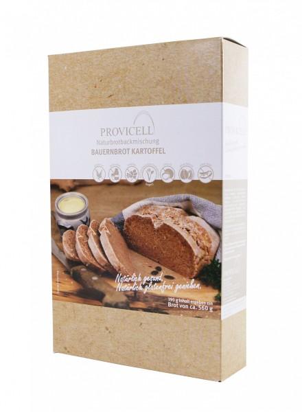 MHD 02/19 - Bauernbrot Kartoffel - allergenarme Brotbackmischung