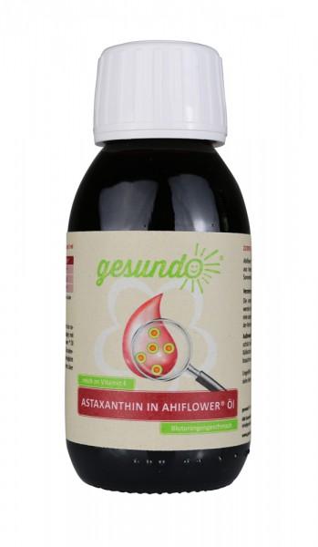 Astaxanthin in Ahiflower Öl + Vitamin E