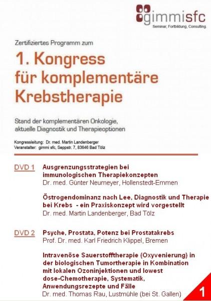 1.DVD zum Kongress für komplementäre Krebstherapie