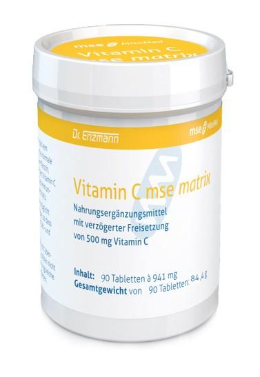 MSE Vitamin C matrix 500 mg