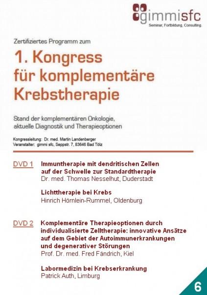 6.DVD zum Kongress für komplementäre Krebstherapie