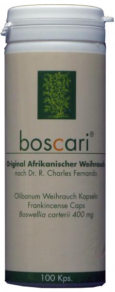 boscari - Afrikanischer Weihrauch in Kapseln nach Dr. R. C. Fernando