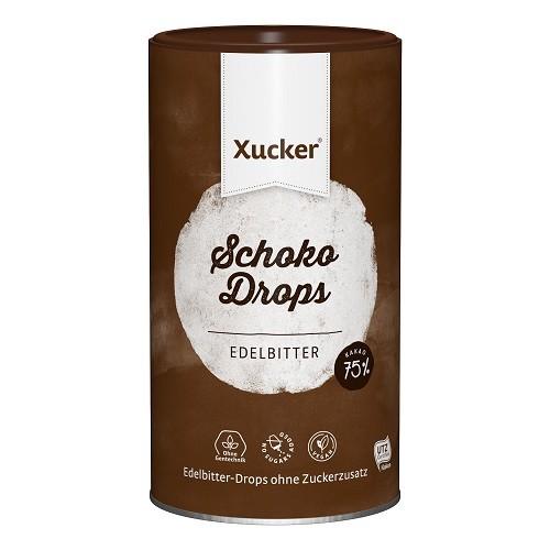 Xylit-Schoko-Drops Edelbitter mit 75% Kakao