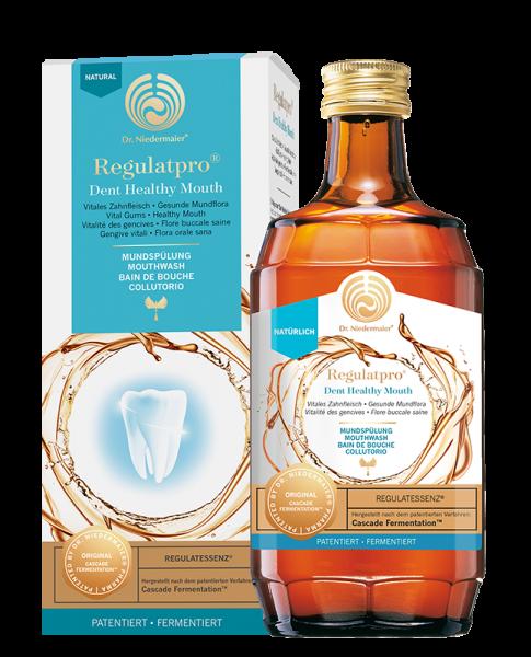 Regulatpro Dent Healthy Mouth - Rechtsregulat mit Zink, Vitamin C, Cranberry und Ingwer