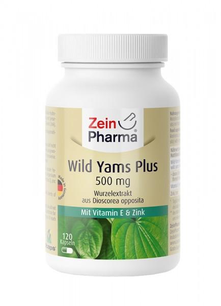 Wild Yams Kapseln 500mg