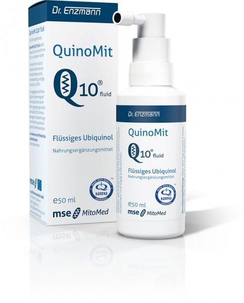 Quinomit Q10 Fluid Tropfen 50 ml mit Ubiquinol