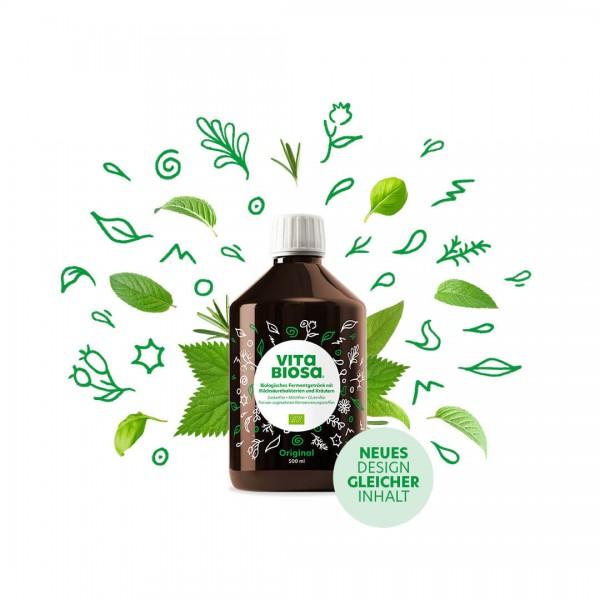 Vita Biosa - biologisches Kräuterfermentgetränk mit Milchsäurekulturen, BIO