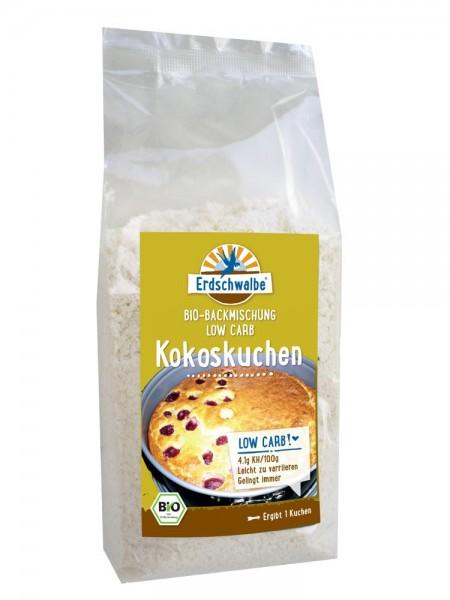 Kokoskuchen - Backmischung, BIO kohlenhydratreduziert